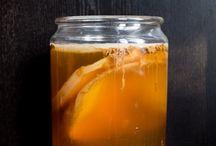 """Kombucha / """"mushroom"""" tea, S.C.O.B.Y."""