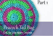 Peacock Tail Bag