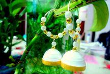 paper jewels / paper quilling... jewels