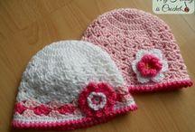 čiapky,klobúky / hačkovanie