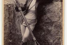 Victorian Burlesque Tobacco Cards
