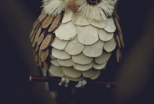papír madarak, fák