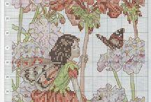 borduren flower fairy