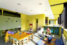 Daycare / Childcare Design Ideas / Innovative and forward thinking design solutions for childcare practitioners. Designed by C& Partners Architects from Canada and Portugal. www.carch.ca
