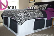 Bedroom makeover / by Stacey Denton Taylor