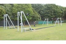 Equipment for parks / A range of playground equipment that is ideal for parks and other public play areas