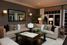 Family room decor ideas / by Tiffanie Webber