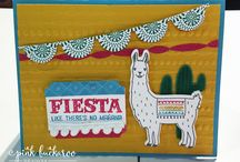 birthday Fiesta stampin up