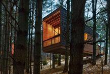 Cabañas de bosque