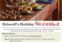 Driscoll's Pin It to Win It