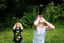 Solar Eclipse / Ideas for viewing the upcoming total solar eclipse with kids.
