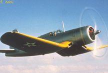 Vought-Sikorsky  XF4u-1 CORSAIR Bu.No.1443 Prototype / XF4u-1 Corsair