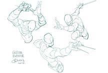 anatomia y poses
