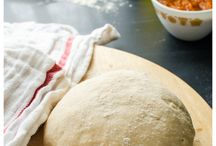 Pizzas whole wheat dough