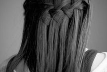 Hår / Waterfall braid