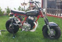 Dimitris Mouchtaris CY50cc - 250cc / #MRCG #CUSTOMIZING #HONDA #CY50 #CY250