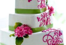 Bubblegum and Grassy Green Weddings