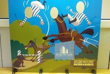 Photo Cutouts Horse Around! / Bespoke designs using horse related images.