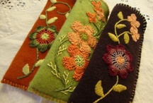 Felt and wool projects
