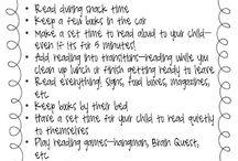 Reading- Parent/Home Connection / by Dawn Avolt
