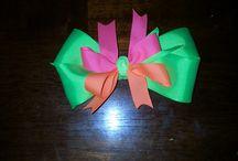 Hair bows / by Lisa Millsap