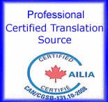 Translation Services Certifications