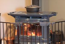 Heating With Wood / Pictures of Wood Burning Stoves and all the gear you need to go with it.