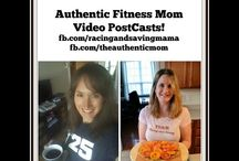 Authentic Mom's Fitness Podcast / Fitness podcast from Amber and myself.  Have a fitness or eating question post below and we'll answer it!   https://www.facebook.com/racingandsavingmama https://www.facebook.com/theauthenticmom / by Kristina Everhart