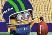 Seahawks / by Hailey Grimm