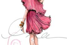 Art ~ IN ~ Fashion / by Dianaa ..