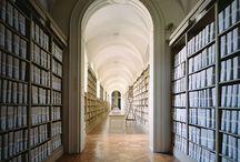 Archives / Libraries / bookshelves