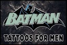 best batman tattoos
