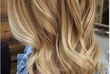 Warm blonde / Blonde hair with warm tones