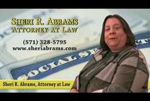 Sheri R. Abrams, Attorney Video / Virginia, DC & Maryland Elder Law, Estate Planning, Social Security Disability & Special Needs Planning Attorney