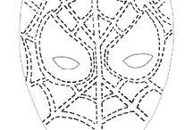 stancil / stampe e disegni per tessuti e body paynting