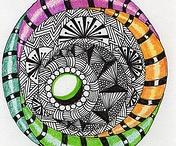 Doodling/ Zentangle
