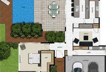family house floor plan