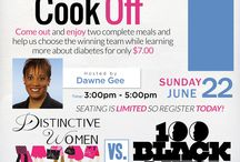 DW vs Louisville 100 Black in the cook off.  Host is Dawn Gee of Wave 3