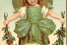 Christmas cards inspiration / Vintage Christmas card images