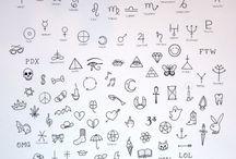 STICK & POKE / STICK & POKE homemade tattoo appreciation & flash designs.