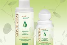 Coverderm BodyGuard Range / Innovative skin care + insect repellent. Soothes the skin while it guarantees to keep insects away for more than 4 hours!
