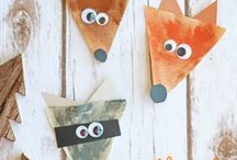 Preschool woodland animals