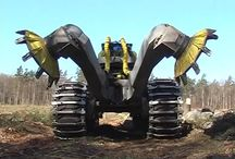 Mean Machines / Earth altering machinations.