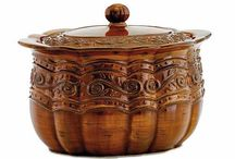 Pots, vessels, and things that hold stuff - Lidded vessels / Heaven...I'm in Heaven... / by Suzanne Sadler