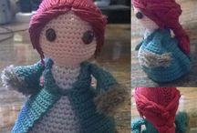 Amigurumi / Tutte le mie bamboline create con schemi originali e non