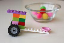Kids: Lego love / DIY Lego ideas #playmatters