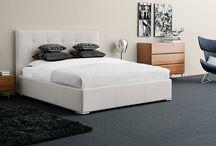 Bedroom - designer beds / Designer beds, bedroom, storage with storing beds, designer bed frames, bedspreads and nightstands