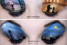 Disney eye makeup