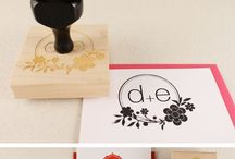 wedding stamps, monograms and logos / by gooseberrymoon