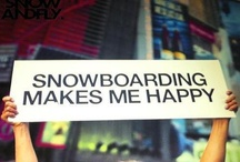 Snowboarding makes HAPPINESS / by Brunotti